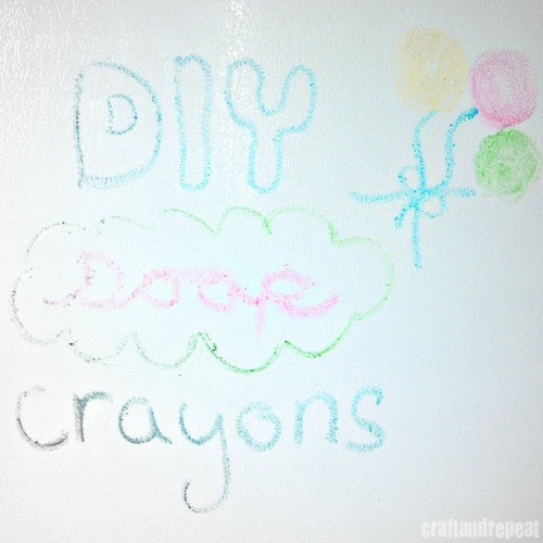 DIY Soap Crayons