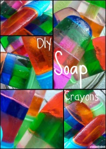 DIY Popsicle Soap Crayons