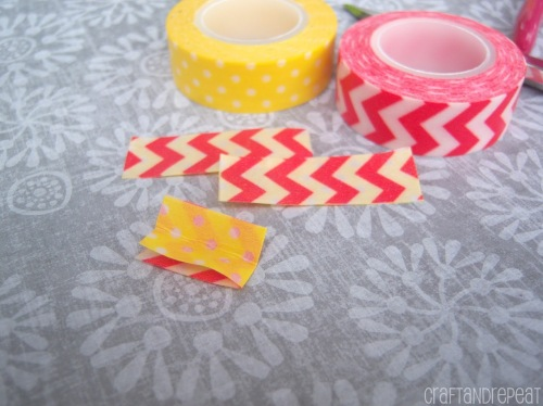 Washi tape flowers, butterflies, and hearts. Free tutorials with lots of pictures!