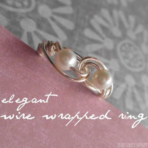 Elegant Wire Wrapped Ring