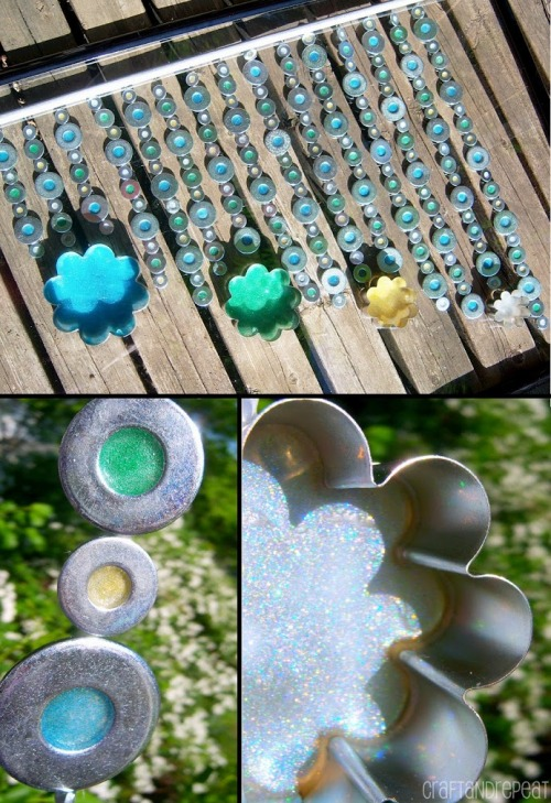 DIY Washer Suncatcher/Wind Chime
