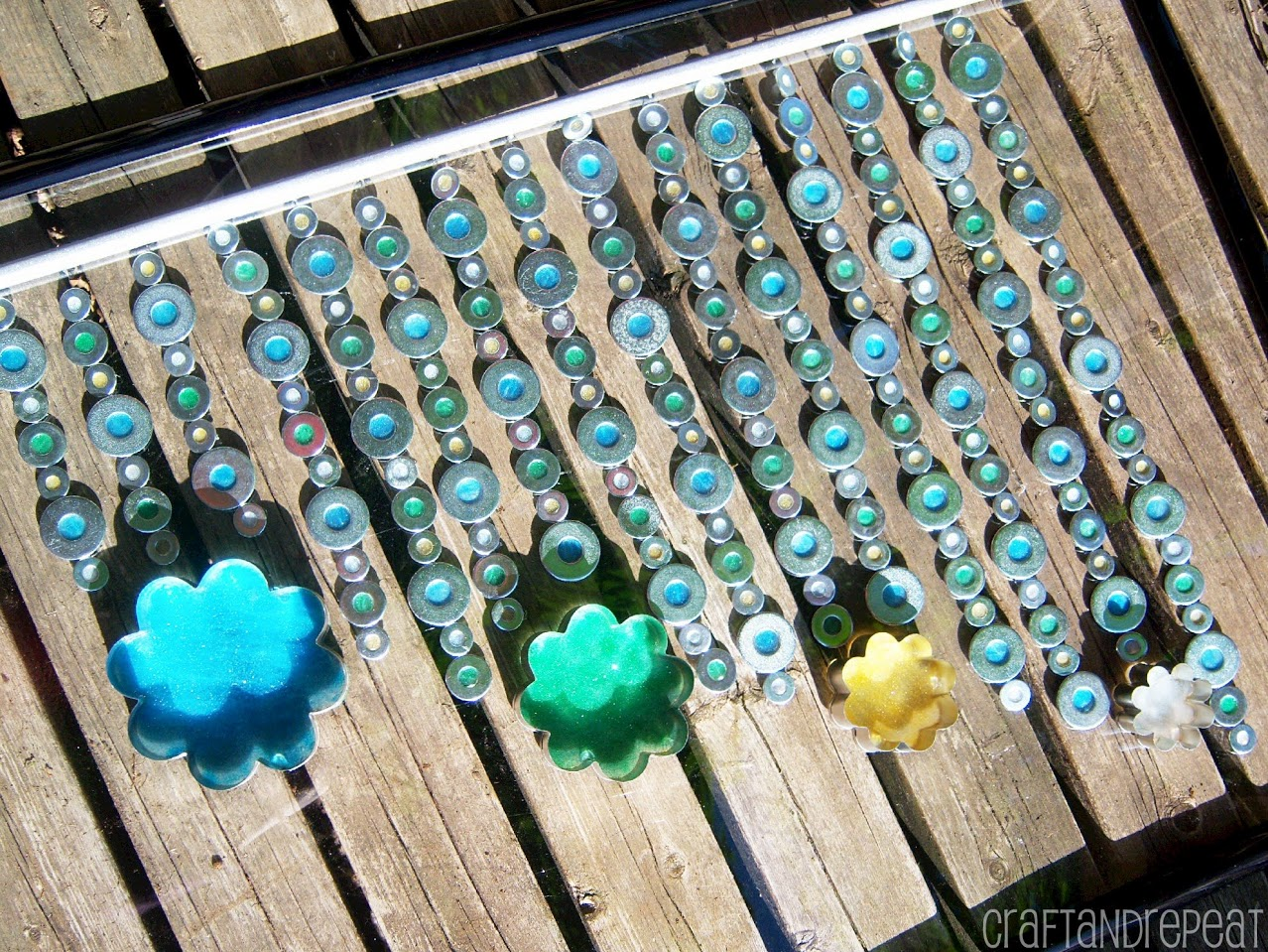 Diy Wind Chimes Washer Suncatcher Wind Chime Craftandrepeat
